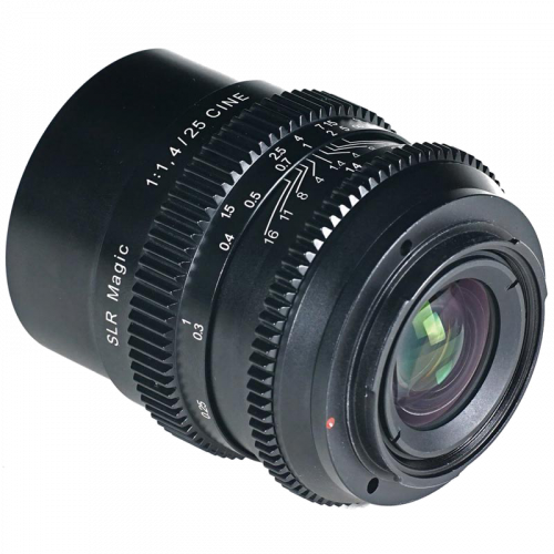 SLR Magic 25mm F1.4 CINE...