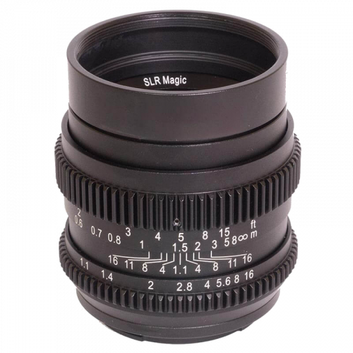 SLR Magic 50mm F1.1 CINE...