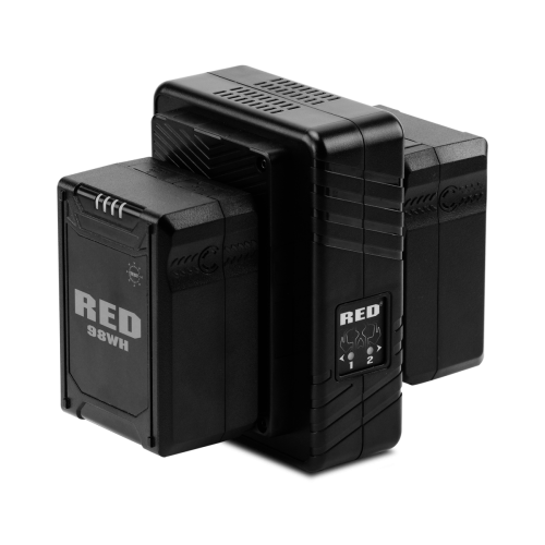 Compact Dual V-Lock Charger
