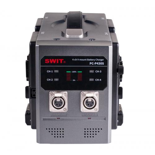 SWIT4-ch V-mount Battery...