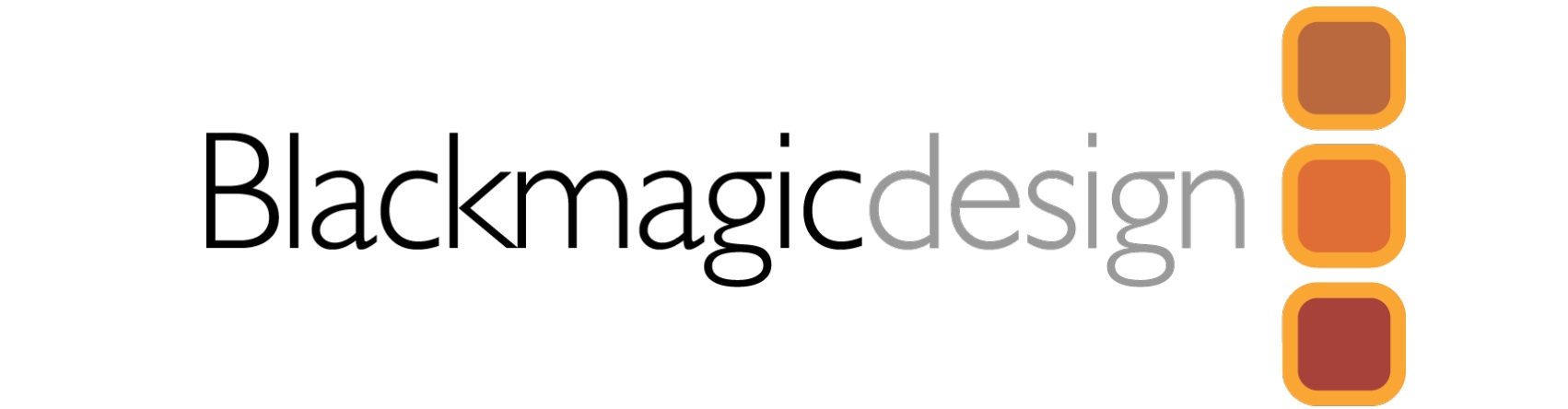 BLACKMAGIC DESIGN LOGO CATTS CAMERA