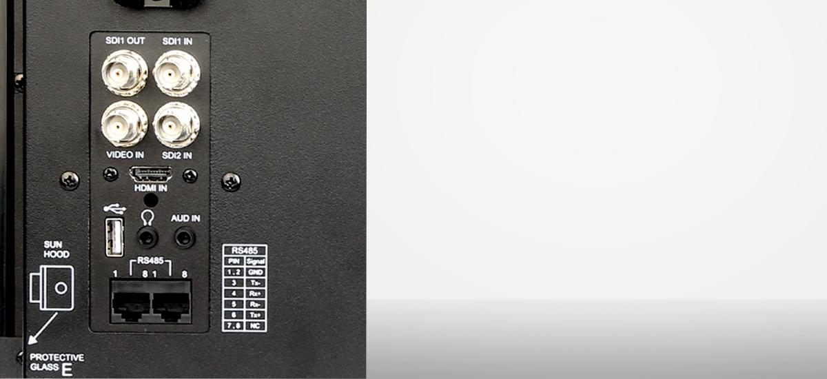 monitor portatil producción 15 pulgadas