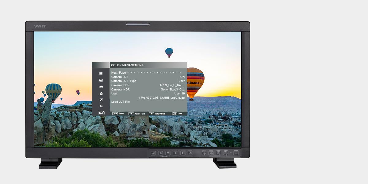 Monitor alto brillo HDR Swit