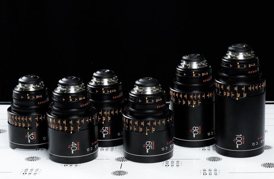 Kit de lentes Atlas Lens Orion Silver Edition