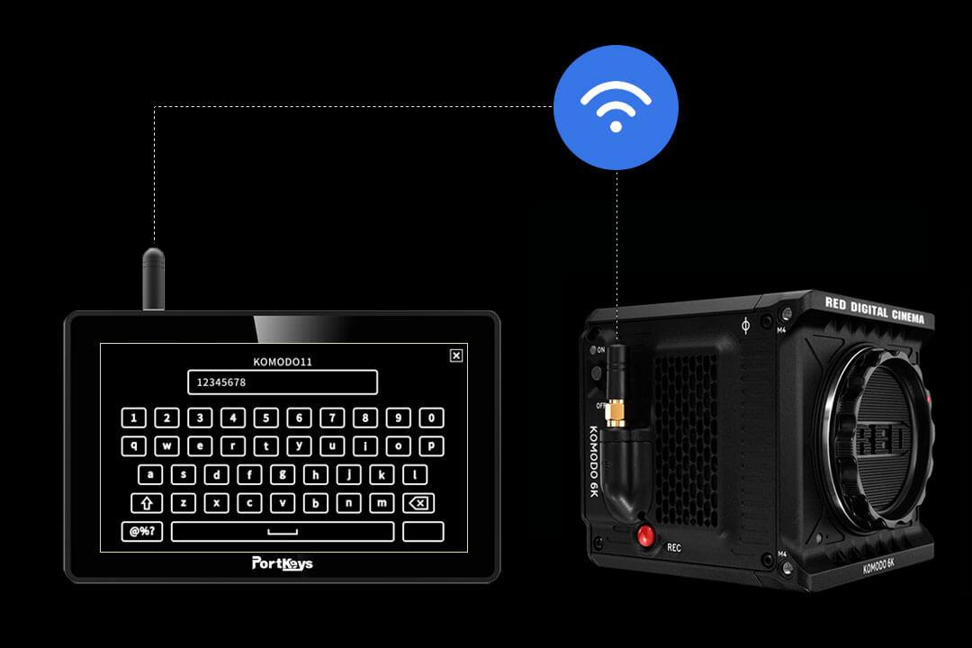 Wifi Portkeys BM5 Wireless